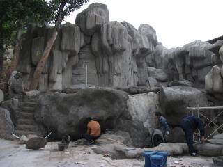 西安假山设计