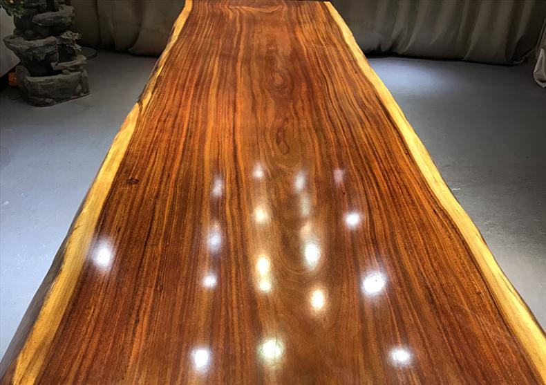 具有良好口碑的奥坎花梨实木大板经销商,奥坎实木供应厂家