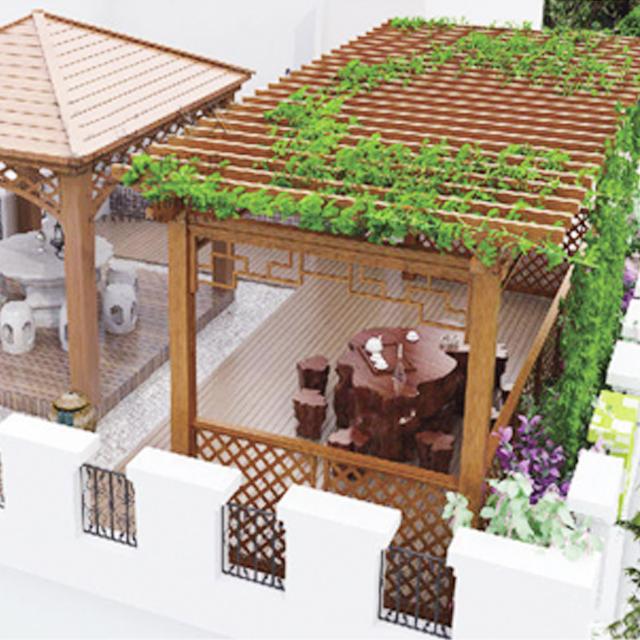 铝合金阳光房葡萄架