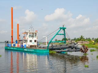 尼日利亚HID4518P绞吸挖泥船
