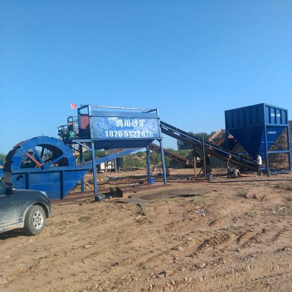 山东机制砂生产线设备加工