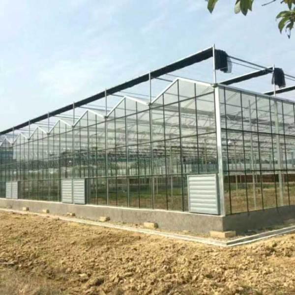 玻璃温室大棚安装