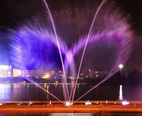 西安音乐喷泉设计