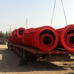 水泥制管机械发货现场