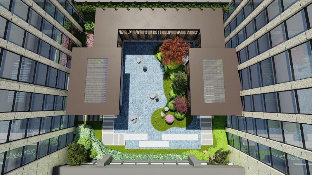 府东大厦庭院设计