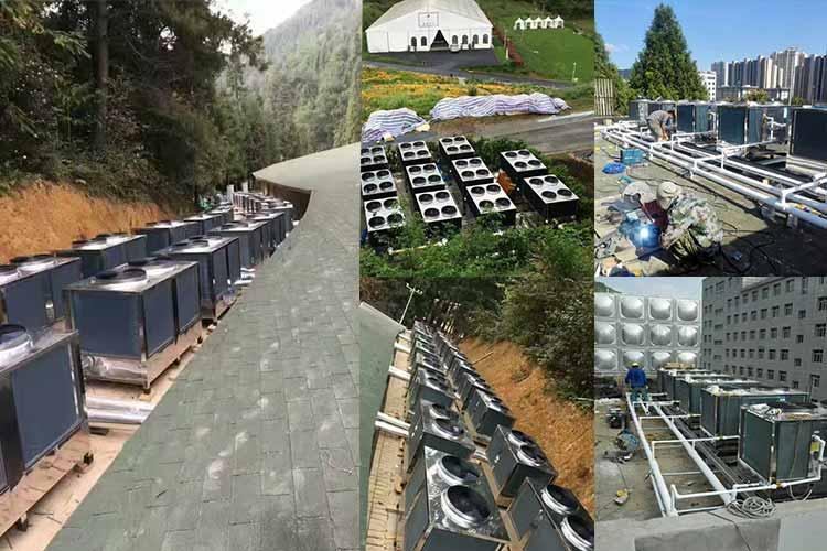 碧涞空气能强势拿下东莞监狱185吨空气能热水项目