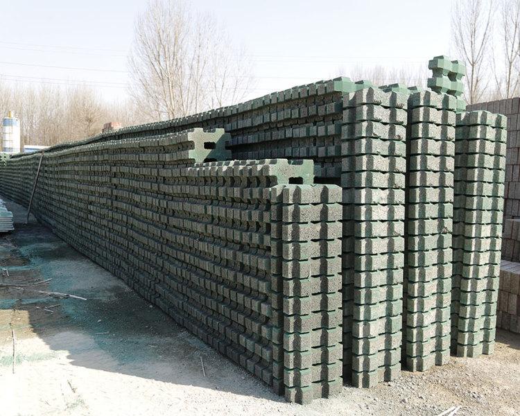 东营水泥植草砖
