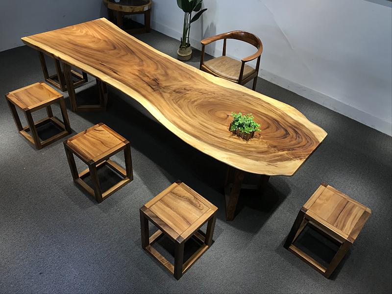 「广东胡桃木大板哪里买」怎么判断胡桃木家具是真是假及详细介绍