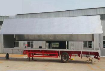 上海翼展式半挂车