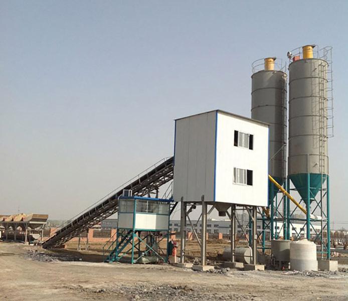 移动混凝土搅拌楼定制_硕鸿提供具有口碑的混凝土搅拌站设备