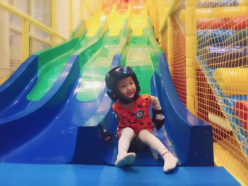 浙江淘气堡组合滑梯