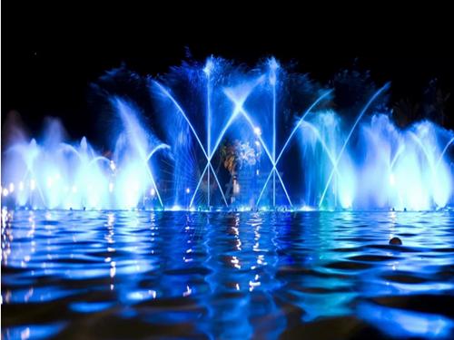 西安冷雾喷泉施工使用哪些场所