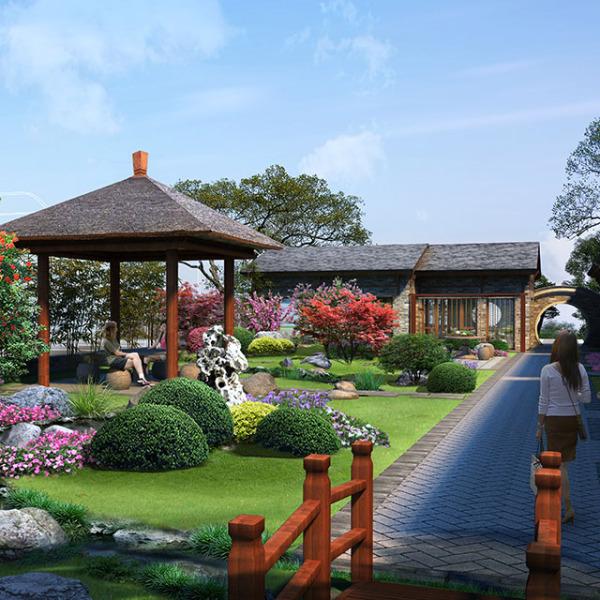 花房故事生态会馆庭院设计