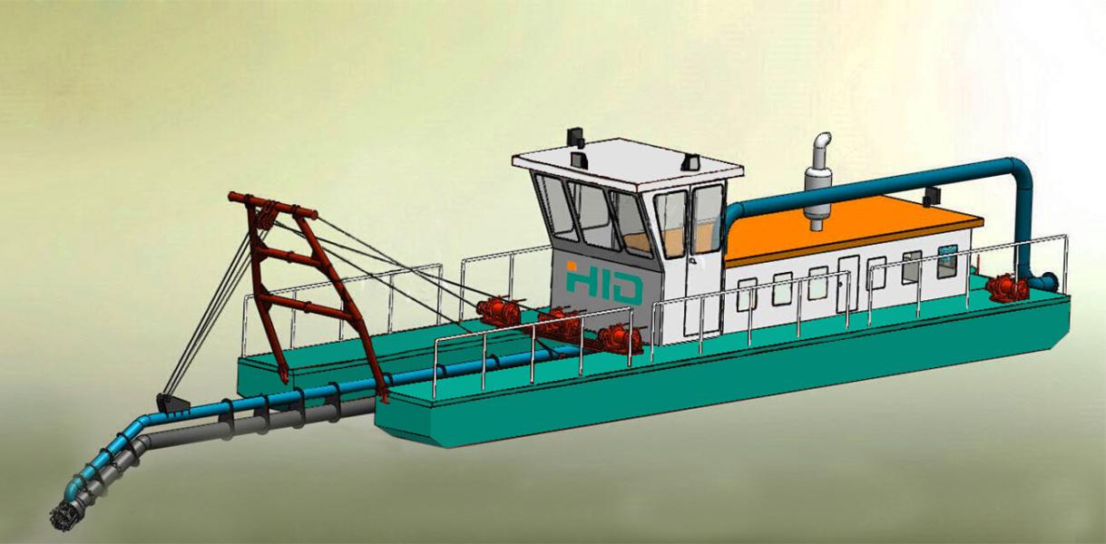 HID-SX4016P射吸式抽沙船