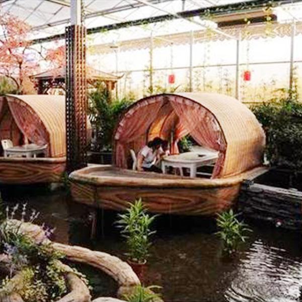 智能生态餐厅要如何用文络温室进行打造?
