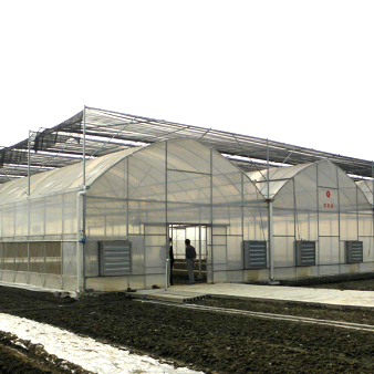 连栋温室的升降温系统操作方法