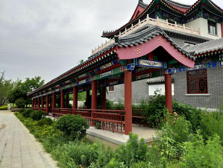 淄博古建筑长廊施工