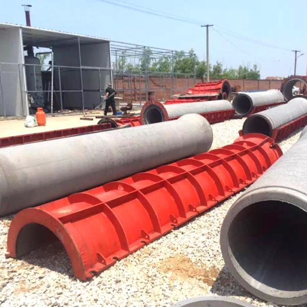 立式振动水泥管模具厂:水泥制管机有筋和无筋对比结果