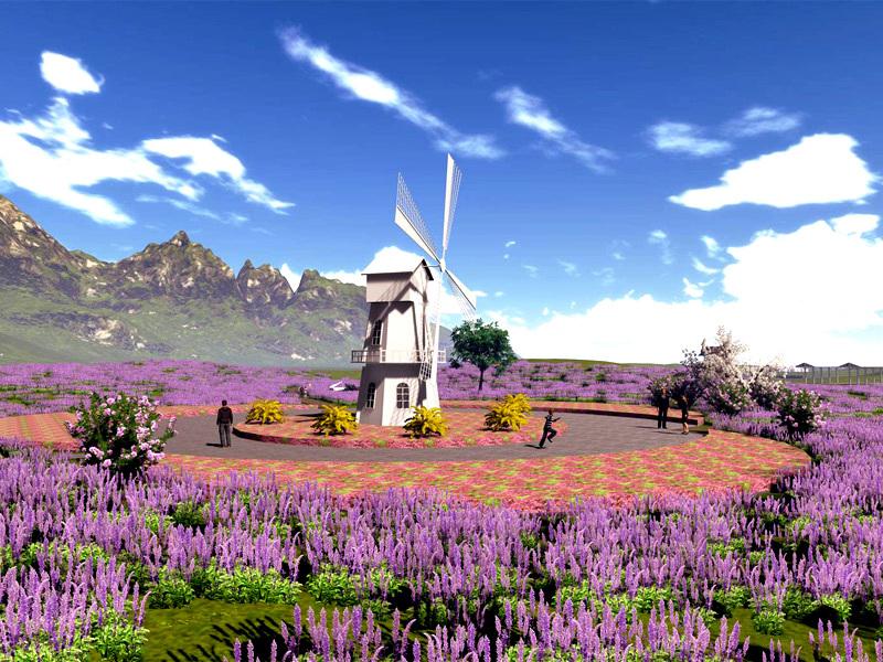 山西绿化草花种植基地