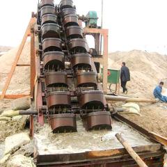 双排挖斗式洗沙机