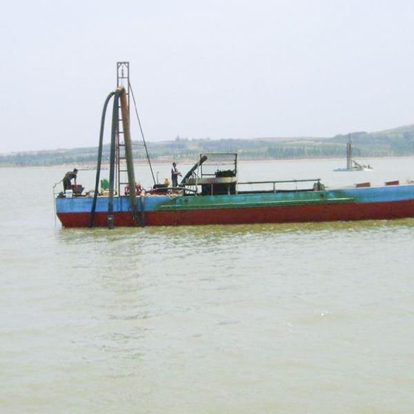 垃圾打捞船生产厂家_想买口碑好的清淤船,就来恒川矿砂