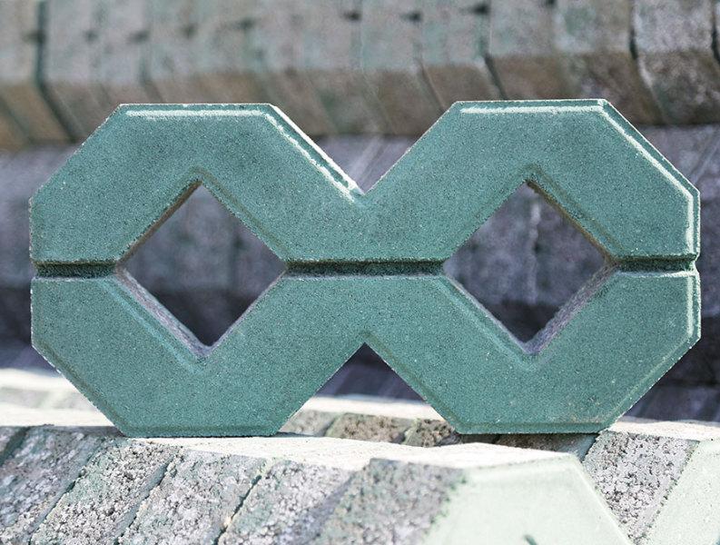 8字型植草砖
