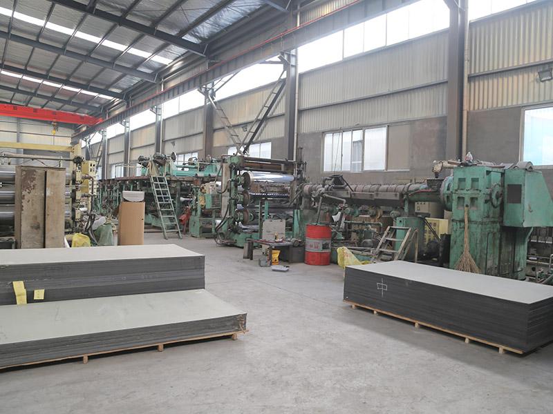 氟碳铝塑板生产车间