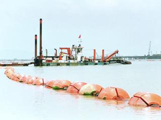 孟加拉HID5522P挖泥船