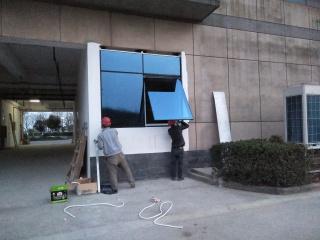 南京中兴研发楼增加幕墙窗