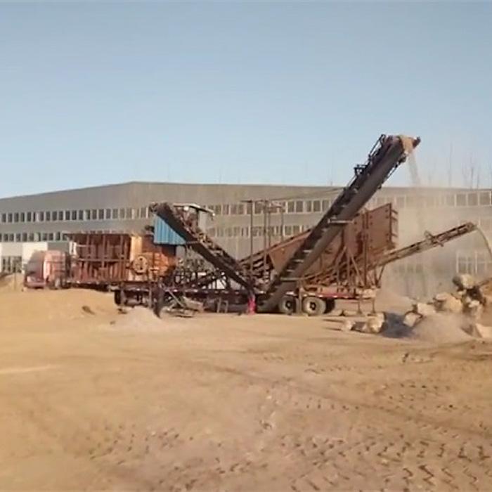 移动式石子生产线设备