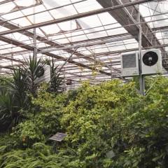 电暖风机在植物园中的应用