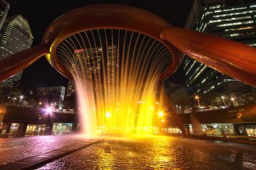 西安室外喷泉
