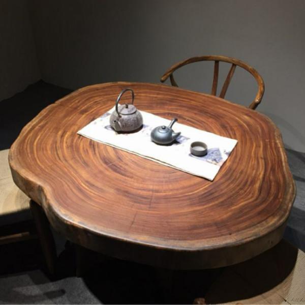 买高性价实木大板桌优选中达木业|现代实木大板桌