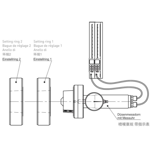 气动式主轴锥度测量仪器