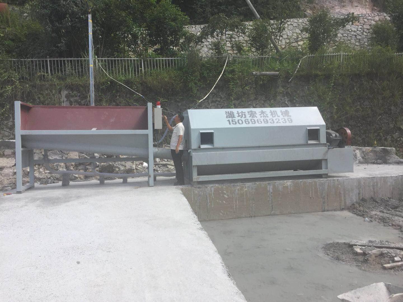 广西沙石分离机 实惠的沙石分离机宏杰机械供应