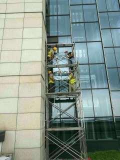 中国银行破损玻璃维修