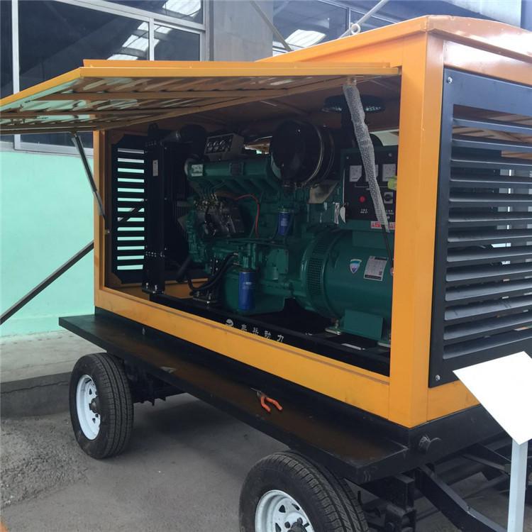 云南50KW发电机组订制:造成柴油发动机动力不足的原因及排风系统设计