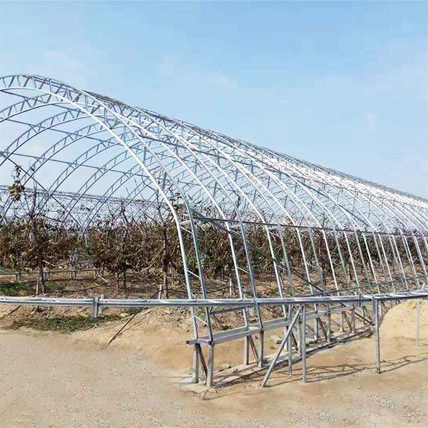 德坤農業設備出售劃算的溫室大棚骨架 江西溫室大棚骨架報價