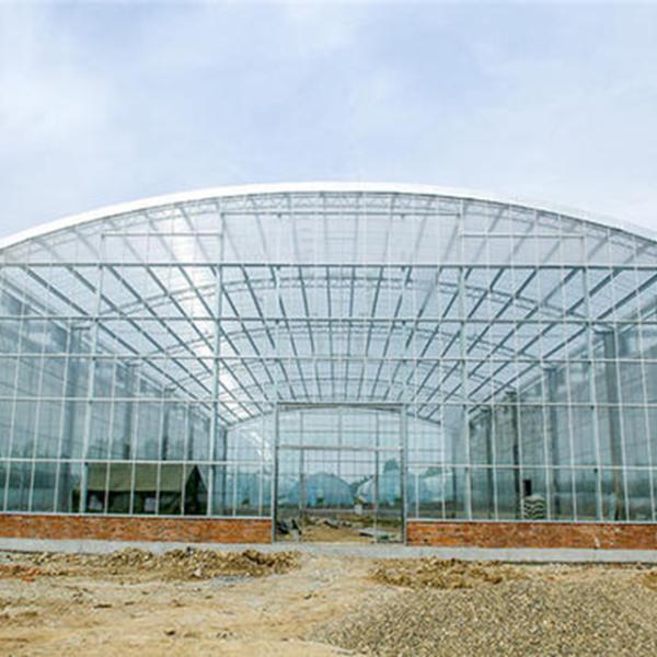 连栋智能温室大棚建设