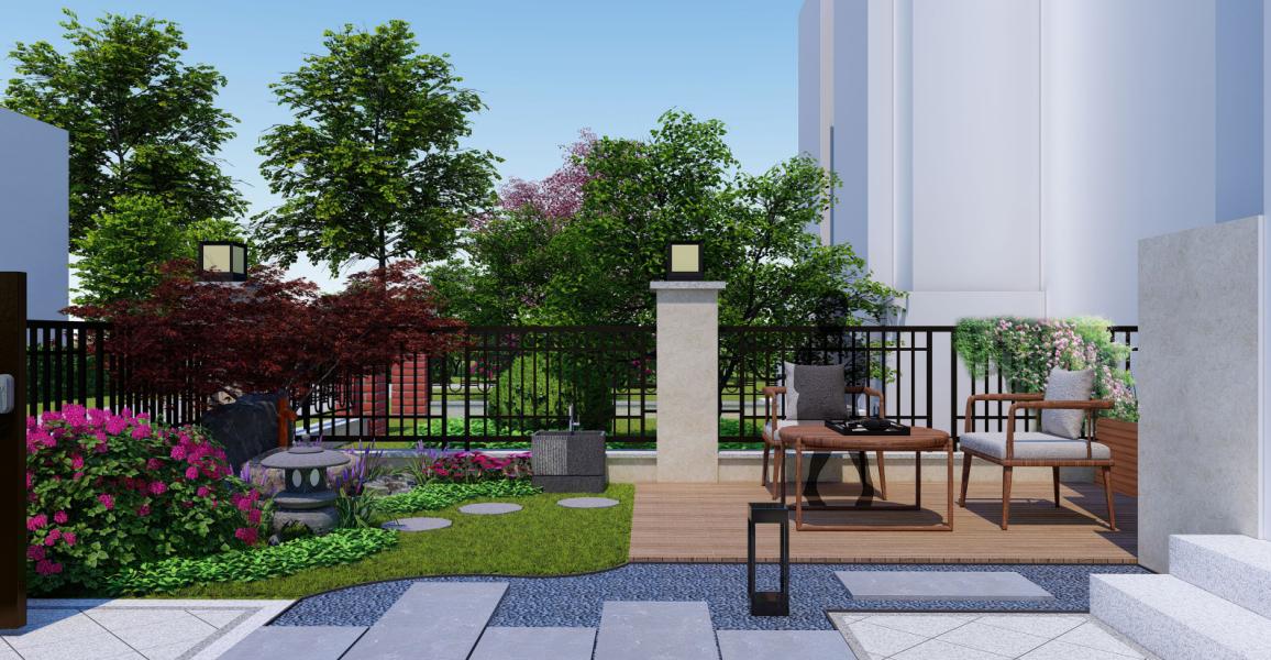 汇通天下庭院设计