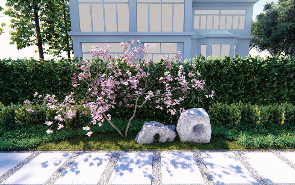 佳和花苑庭院设计