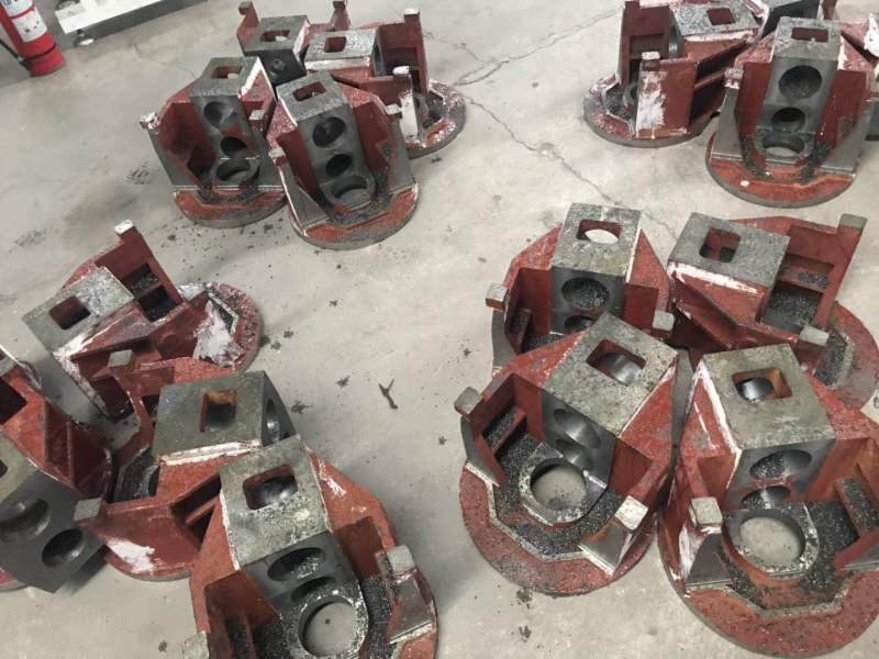 齿轮机铸件
