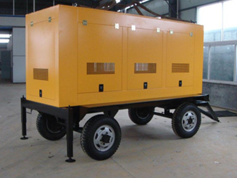 西藏拖车发电机组常用计算公式和术语及噪声处理措施