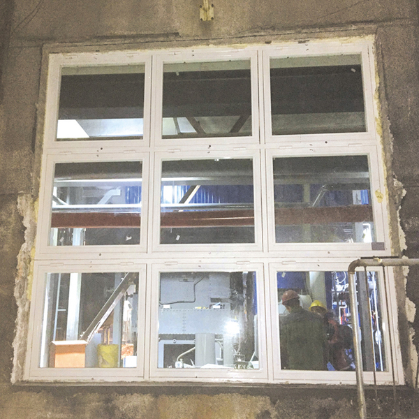 塑钢耐火窗