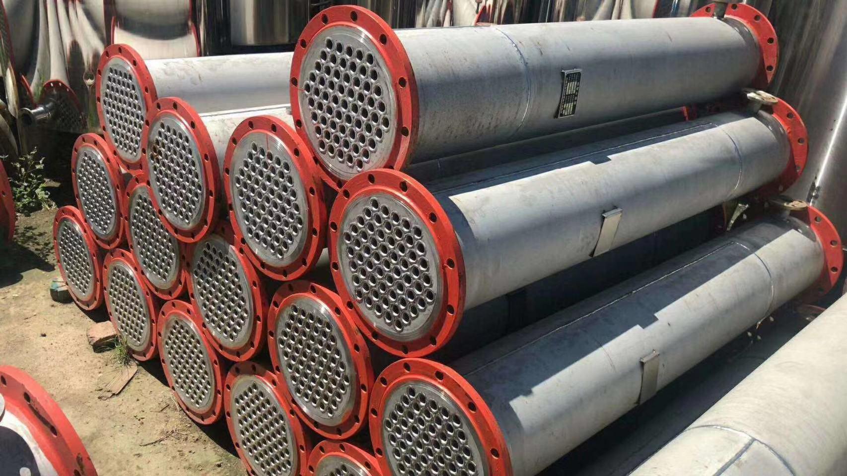 山東優惠的二手列管冷凝器 二手150平方冷凝器