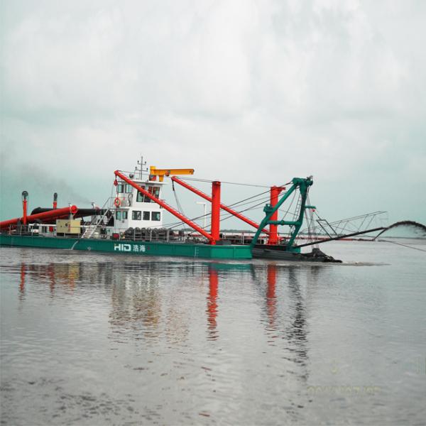 HID-CSD6024P绞吸式挖泥船