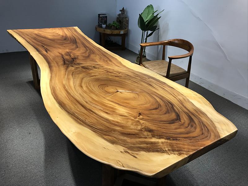 四川南美胡桃木高板桌定制,推薦南平質量硬的辦公茶幾茶具套裝