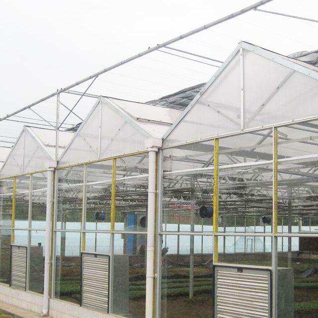 玻璃智能连栋温室