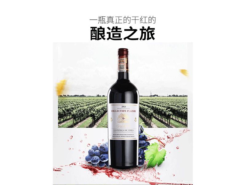 进口红葡萄酒
