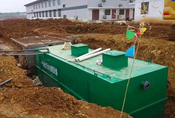 潍坊地埋一体化污水处理设备的注意事项